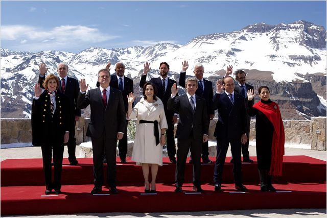La Cordillera : Foto Daniel Giménez Cacho, Elena Anaya, Leonardo Franco, Ricardo Darín