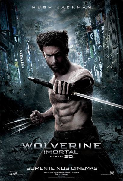 Wolverine: Imortal : Poster