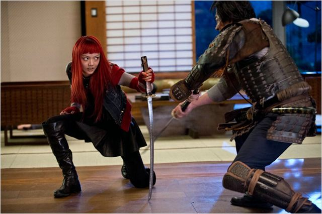 Wolverine: Imortal : Foto Hiroyuki Sanada, Rila Fukushima