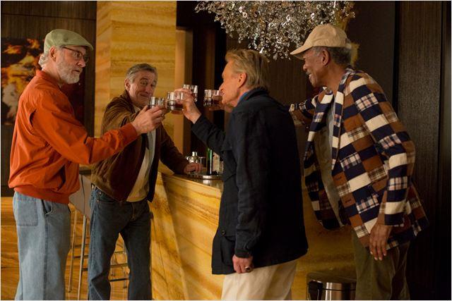 A Última Viagem a Vegas : Foto Kevin Kline, Michael Douglas, Morgan Freeman, Robert De Niro