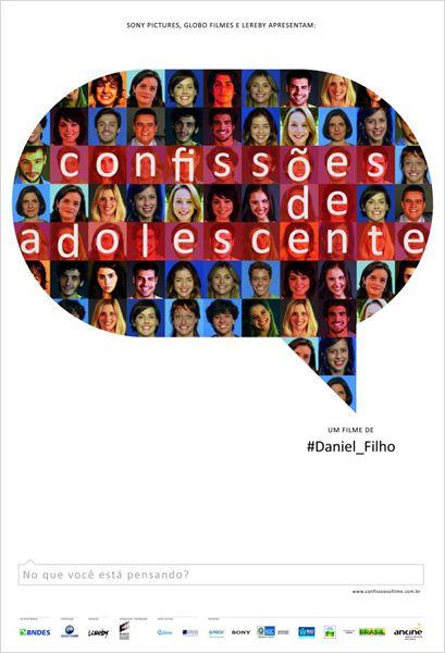 Confissões de Adolescente : Poster