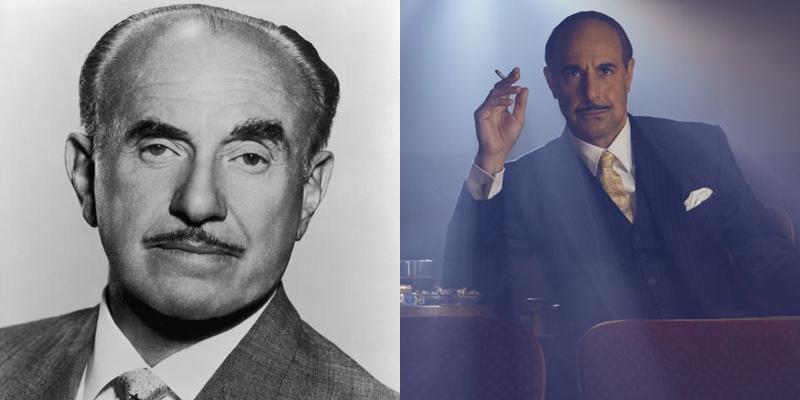Stanley Tucci é Jack L. Warner