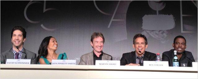 Diário de Cannes: Ben Stiller e Chris Rock divulgam Madagascar 3