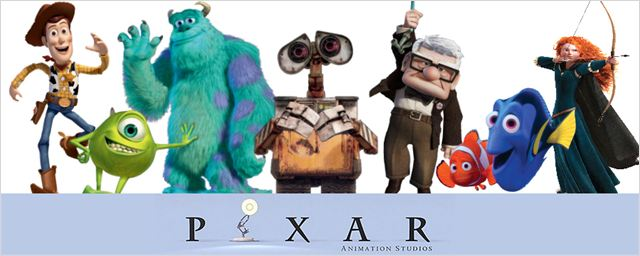 O universo m&#225;gico da Pixar, de Toy Story a Valente