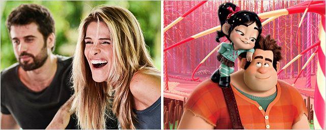 Bilheterias Brasil: Detona Ralph e De Pernas pro Ar 2 juntos no topo