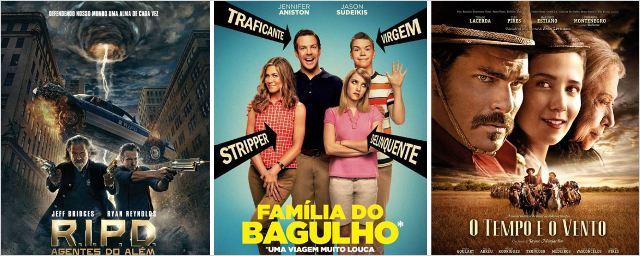 R.I.P.D. - Agentes do Além, Família do Bagulho e O Tempo e o Vento são as principais estreias da semana