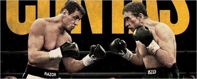Exclusivo - Cartaz nacional de Ajuste de Contas traz Stallone e De Niro como boxeadores