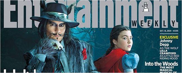 Johnny Depp surge como Lobo Mau em nova imagem de Caminhos da Floresta
