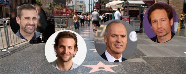Bradley Cooper, Michael Keaton, Steve Carell e outros famosos vão ganhar estrelas na calçada da fama