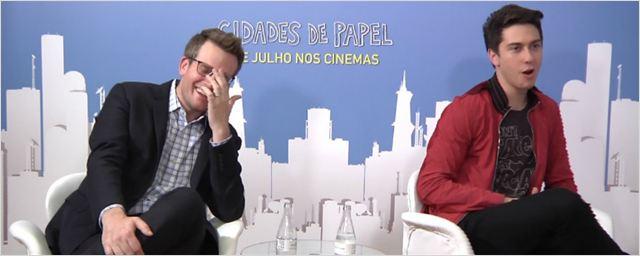 """Cidades de Papel: """"Há cenas do filme que eu gostaria que estivessem no livro"""" (exclusivo)"""