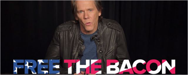 #FreeTheBacon: Kevin Bacon defende a nudez no cinema em vídeo de humor