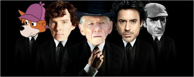 15 versões de Sherlock Holmes