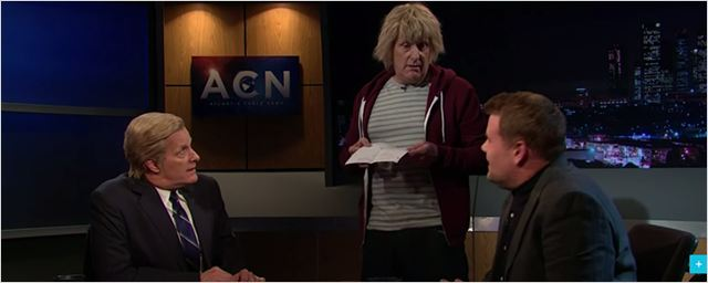 Jeff Daniels promove um inusitado crossover entre The Newsroom e Debi & Lóide