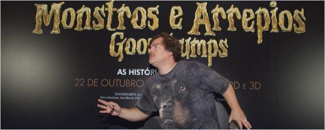 Goosebumps: Jack Black é exatamente do jeito que você imagina