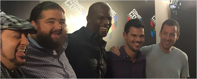 The Ridiculous 6: Entrevista com Adam Sandler, Terry Crews, Taylor Lautner e companhia