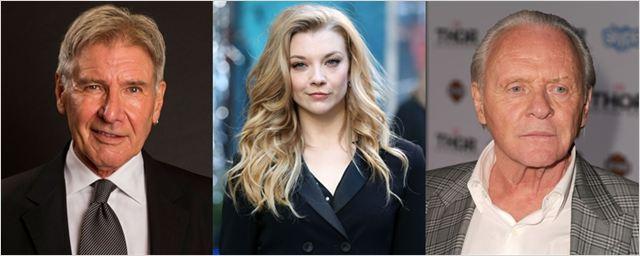 Harrison Ford, Anthony Hopkins e Natalie Dormer vão protagonizar drama de espionagem