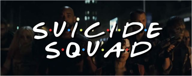 Vilões camaradas! Esquadrão Suicida ganha versão inspirada na abertura de Friends