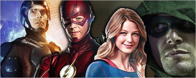 É combo! CW planeja um crossover com The Flash, Supergirl, Arrow e Legends of Tomorrow