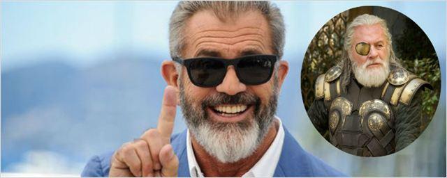 Mel Gibson revela que recusou interpretar Odin em Thor