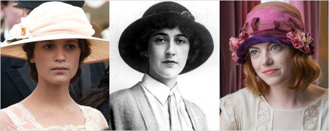 Agatha Christie pode ganhar duas cinebiografias com Emma Stone e Alicia Vikander no papel da escritora