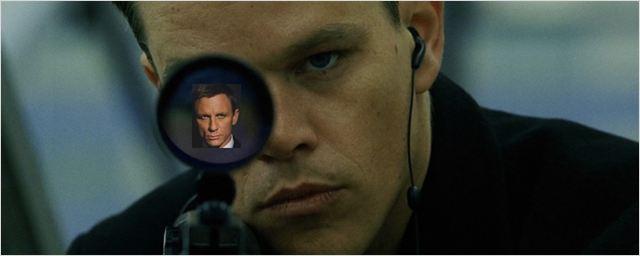 Briga de espiões: Matt Damon diz que James Bond é misógino e seria derrotado por Jason Bourne em uma luta