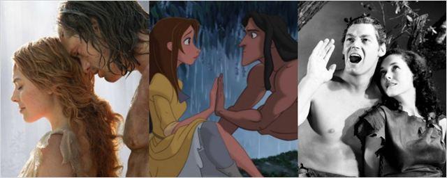 Relembre as adaptações de Tarzan para cinema e TV
