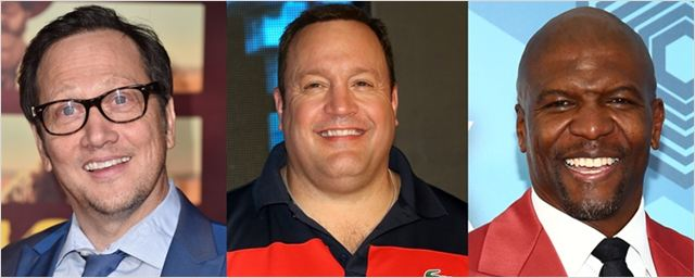 Kevin James, Terry Crews e Rob Schneider estarão no próximo filme de Adam Sandler
