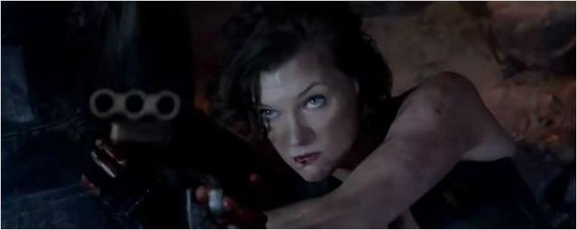 Milla Jovovich volta com tudo no teaser de Resident Evil 6 - O Último Capítulo