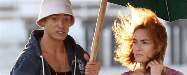 Cena praiana do novo filme de Woody Allen reúne Kate Winslet, Justin Timberlake e Juno Temple