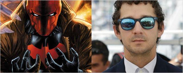Fãs criam campanha para Shia LaBeouf ser o vilão Capuz Vermelho em filme solo do Batman