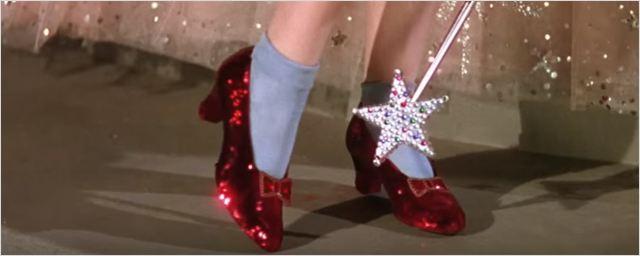 Campanha coletiva é lançada para preservar os sapatos vermelhos de Dorothy em O Mágico de Oz