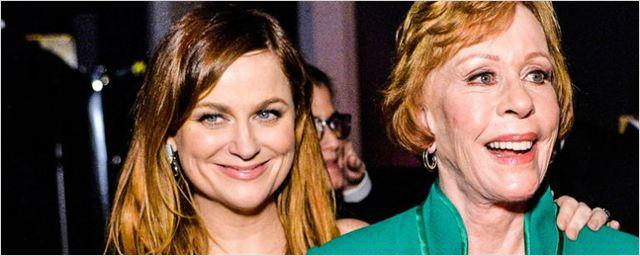 Carol Burnett será a protagonista de nova série produzida por Amy Poehler