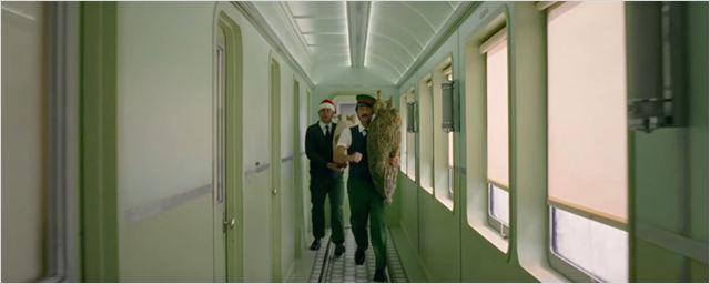 Wes Anderson faz vídeo publicitário com clima natalino. Vem ver!