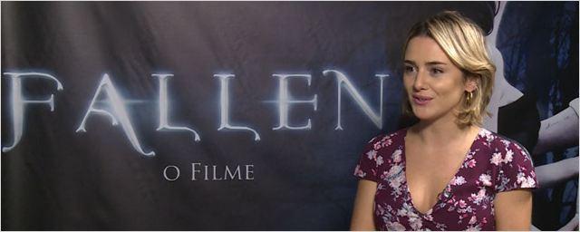 """Fallen: """"Esse triângulo amoroso me parece mais uma dança"""", afirma protagonista Addison Timlin (Exclusivo)"""