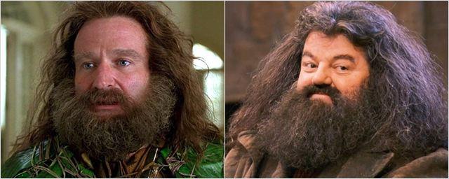Robin Williams quis interpretar o Hagrid, de Harry Potter