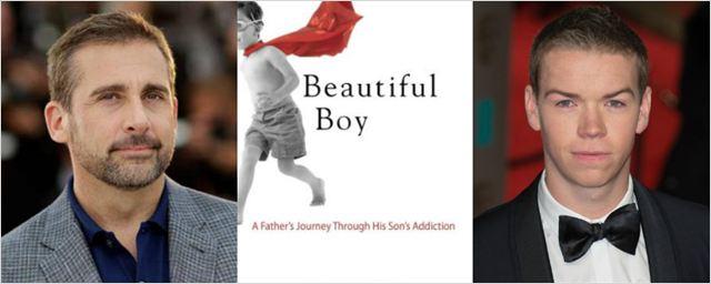 Steve Carell e Will Poulter podem atuar em drama sobre dependência de drogas produzido por Brad Pitt