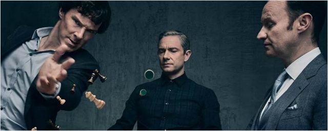 Sherlock: Vídeo dos bastidores revela que explosão da quarta temporada não foi CGI