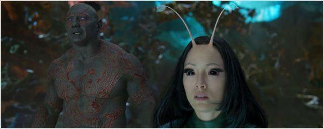 Senhor das Estrelas, Mantis, Drax e Yondu são os destaques das novas imagens de Guardiões da Galáxia Vol. 2