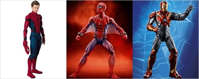 Linha de brinquedos de Homem-Aranha: De Volta ao Lar revela nova armadura do Homem de Ferro