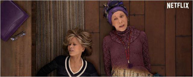 Jane Fonda e Lily Tomlin tentam criar seu próprio negócio no trailer da terceira temporada de Grace and Frankie