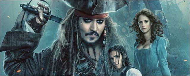 Cartaz nacional de Piratas do Caribe: A Vingança de Salazar apresenta os protagonistas da nova aventura de Jack Sparrow