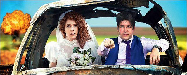 Exclusivo: Camila Morgado e Murilo Benício são um casal em pé de guerra no pôster de Divórcio