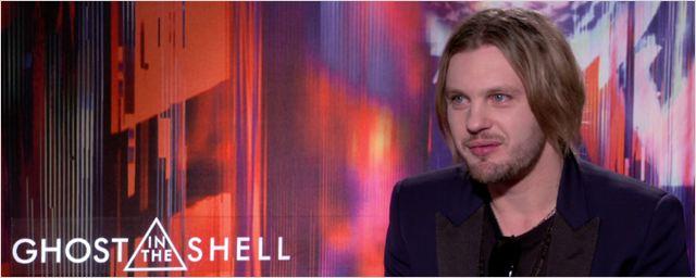 Ghost in the Shell: Michael Pitt comeu comida crua e inventou um passado para seu personagem no filme (Entrevista Exclusiva)