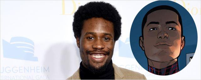 Shameik Moore, de Dope e The Get Down, será a voz de Miles Morales na animação do Homem-Aranha