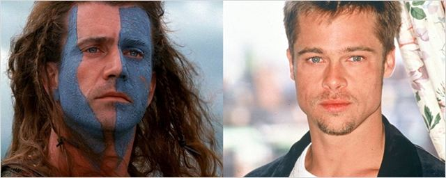 Brad Pitt quase interpretou William Wallace no lugar de Mel Gibson em Coração Valente
