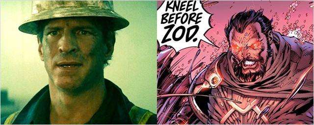 Supergirl escala ator de O Homem de Aço como General Zod