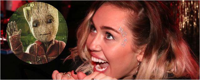 Miley Cyrus tem participação especial em Guardiões da Galáxia Vol. 2