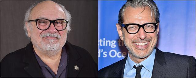 Danny DeVito e Jeff Goldblum vão protagonizar série de comédia para a Amazon
