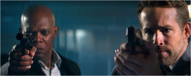 Dupla Explosiva: Comédia com Samuel L. Jackson e Ryan Reynolds tem tiros, perseguições e música romântica