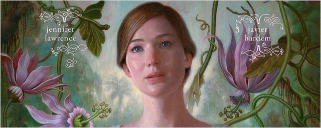 Jennifer Lawrence segura o próprio coração em cartaz de Mother!, novo filme de Darren Aronofsky
